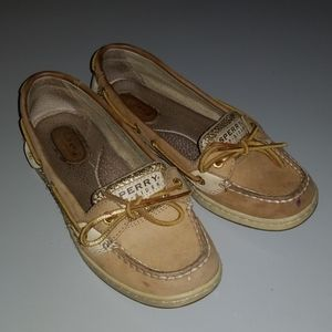 Gold Glitter Sperry Top-Sider Sperrys